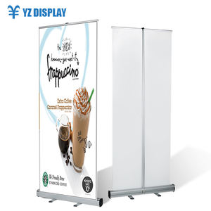 Intrekbare Led Display 85*200 Aluminium Budget Pull Up Roll Up Banner Stand