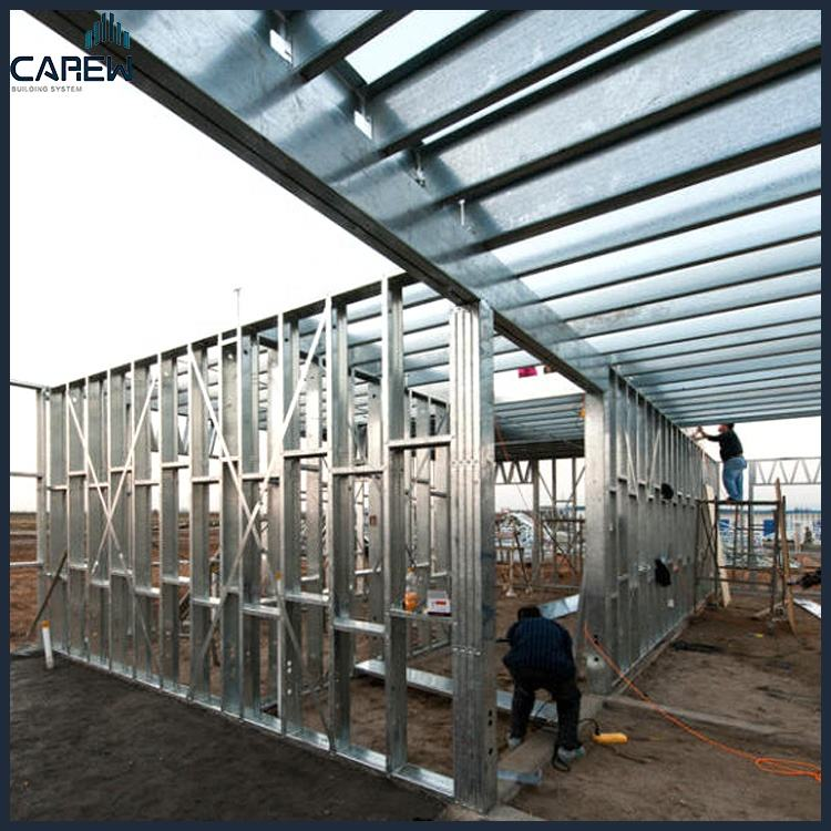 High quality Family type light steel frame Prefab villa With EU Certification/EN Standard/Australia(NZ)Standard