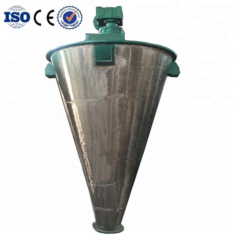 Heating jacket vertical conical powder screw mixer