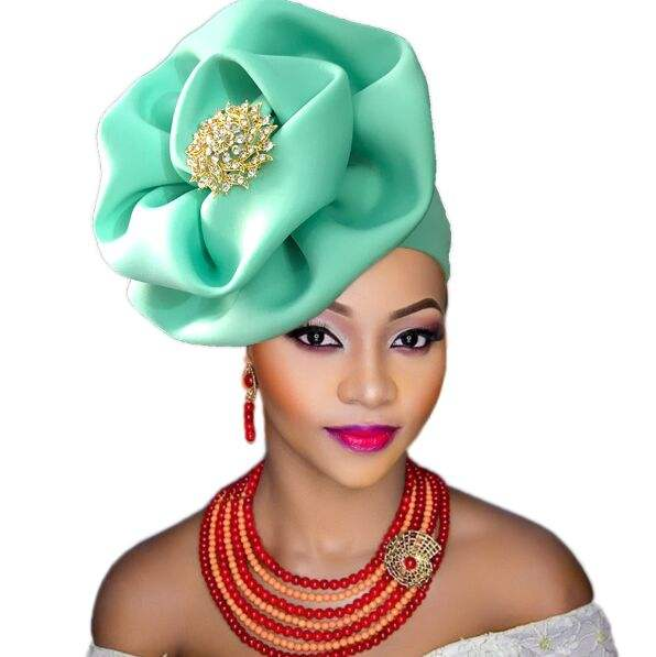 2017the Newest stones and beads african aso oke headtie wrapper wholesale aso ebi women headtie length 8.6m 11colors available