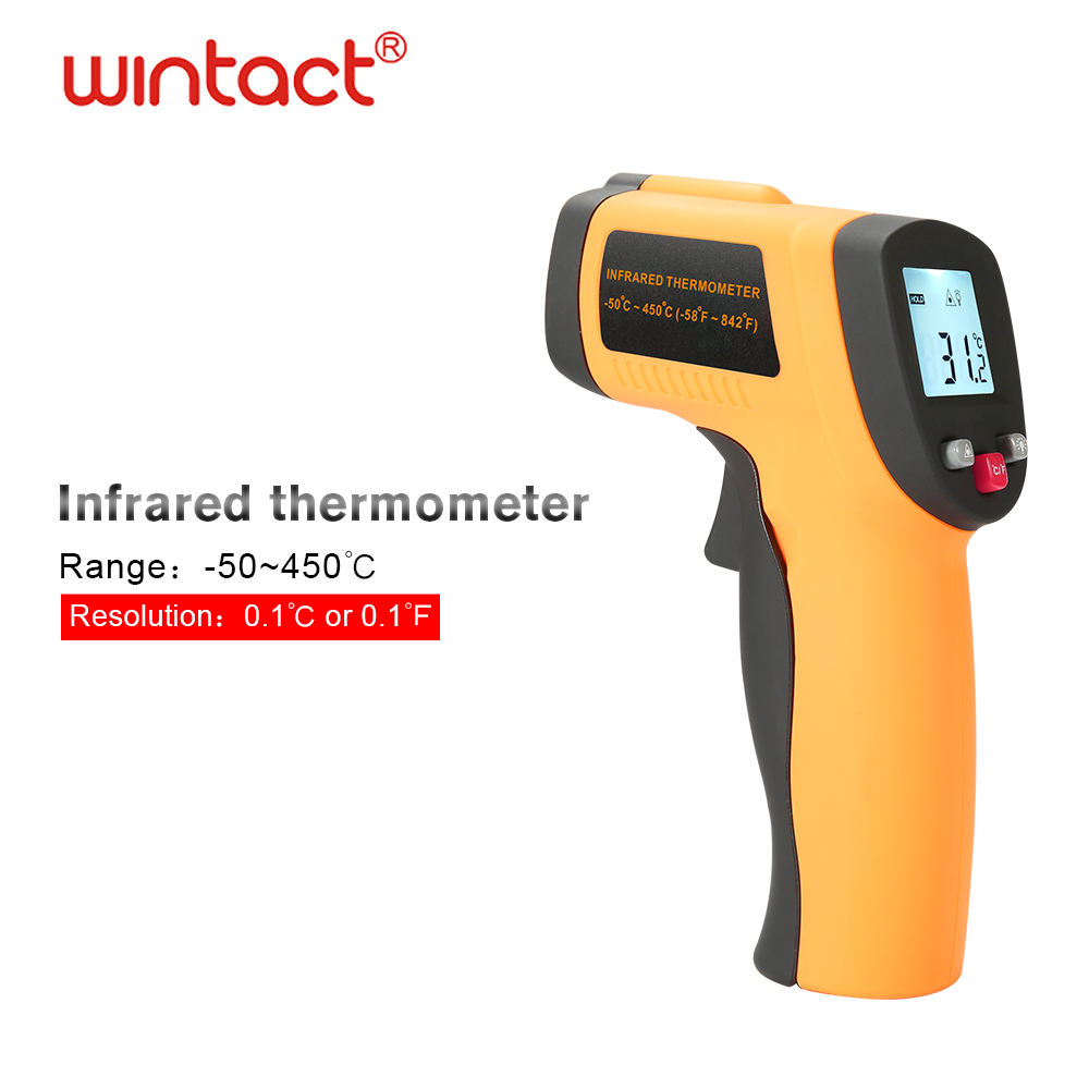 gm300 hot water cooking grill dual laser digital electronic infrared thermometer industrial