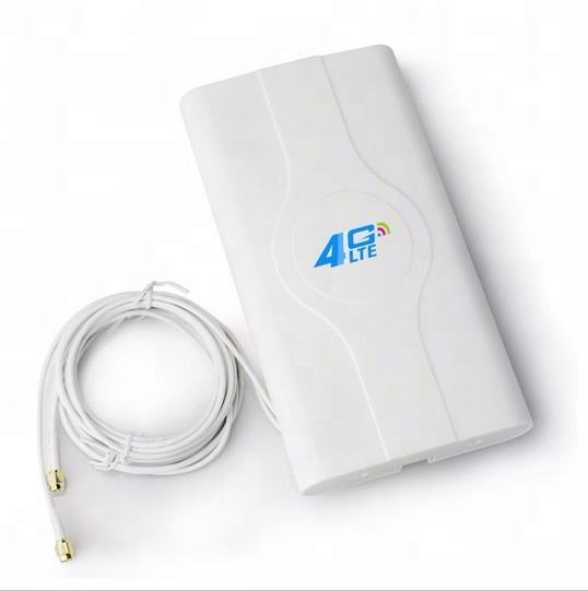 4G LTE Mimo Antenna SMA Type,Lafalink 3G 4G 49dBi Desktop Wall Mounted Antenna for 4G Modems Routers Mobile Hotspot