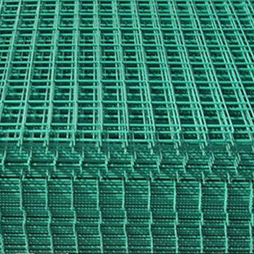 Verified by TUV Certification PVC Coated Welded Wire Mesh Panel