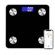 180kg/396lb LCD Backlight Display WIFI Bodyfat Mass Personal Smart Body Scale Bluetooth Body Weight With App
