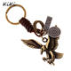 >>>Fashion Personality Eagle Pendant Trendy Keychain For Car Purse Bag Buckle Key Holder Key Chains