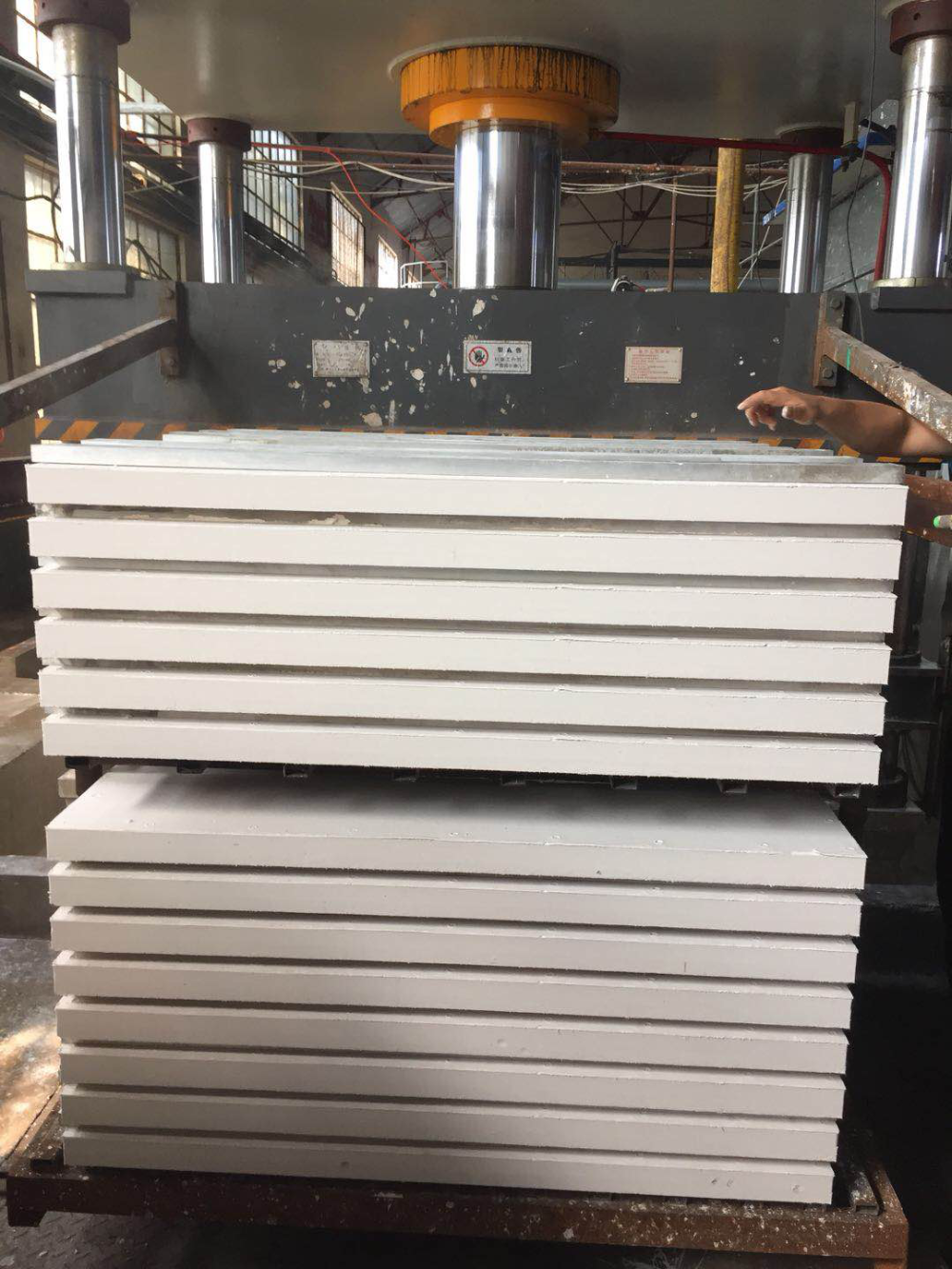 650C Thermal Insulation Calcium Silicate Board for Industrial Furnaces 600x300x50mm 220kg/m3