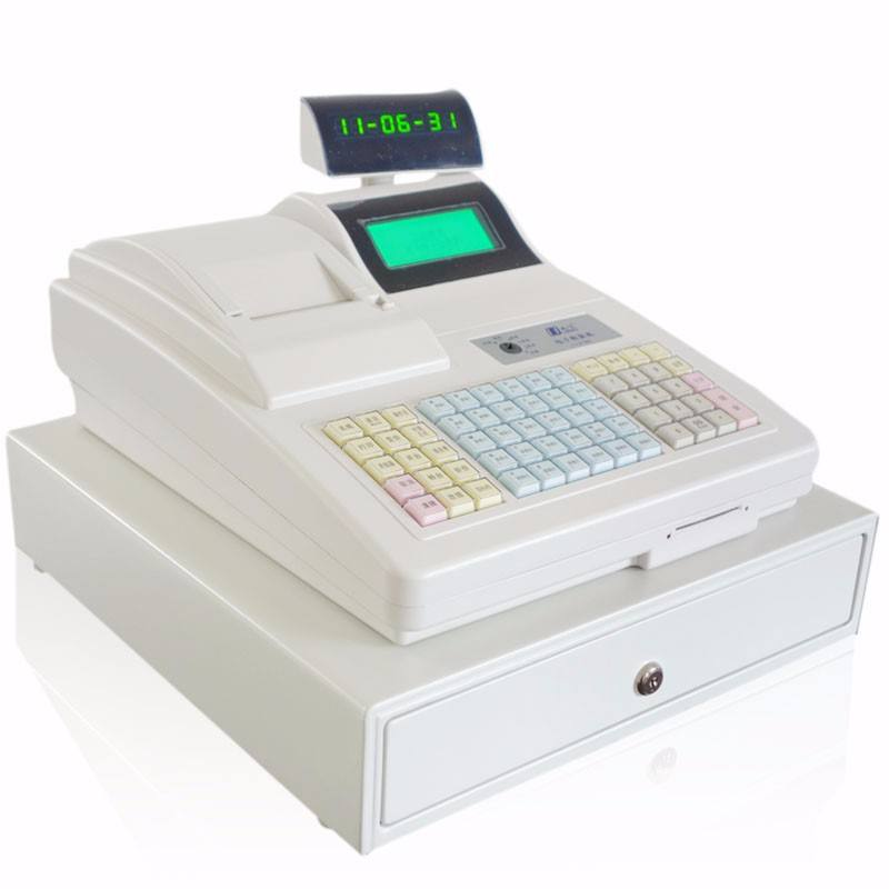 Cheap Electronic Cash Register Machine with 57mm Thermal Printer