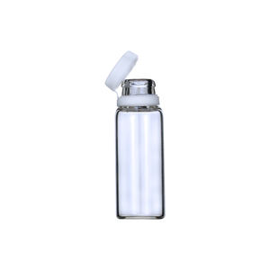 LANJING 1ml 2ml 3ml 4ml 5ml Clear Borosilicate Small Glass Vial With Tearing Off Cap