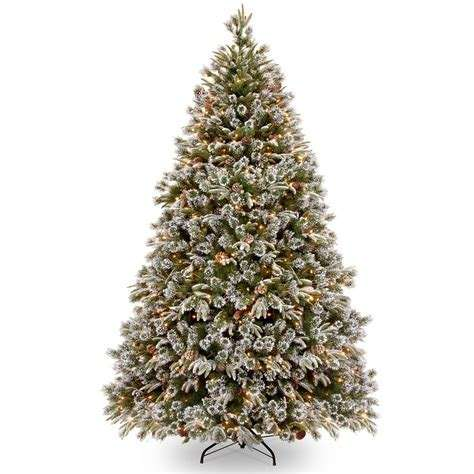 Automatic solar falling snow Christmas tree