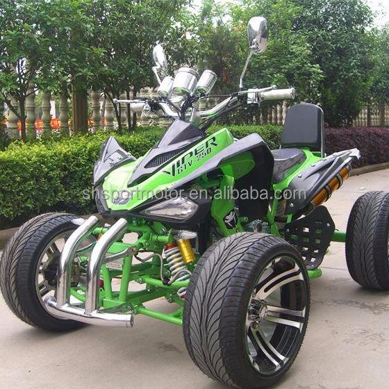 고품질 250CC에 ATV 레이싱 쿼드 자전거 도로 사용