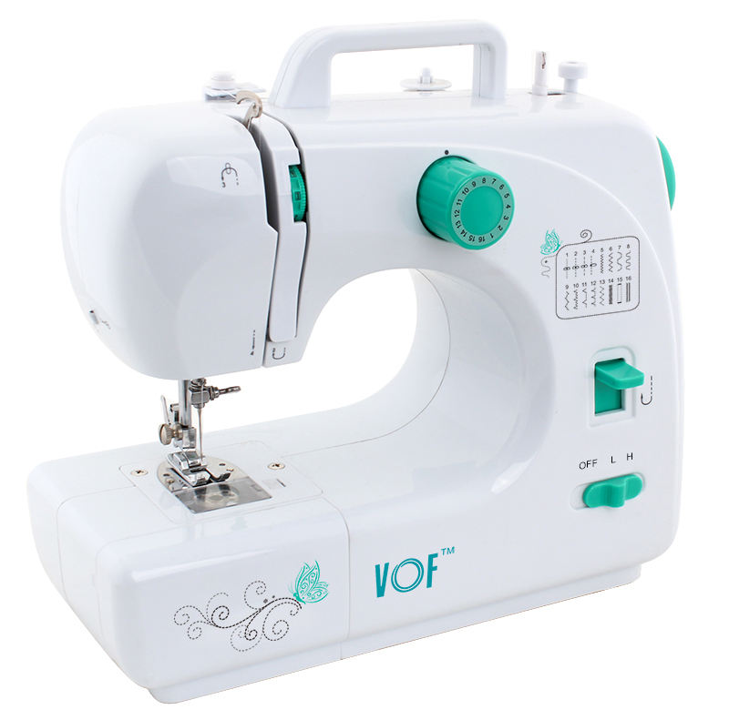 Original factory supply sew easy household mini portable sewing machine with buttonhole sewing
