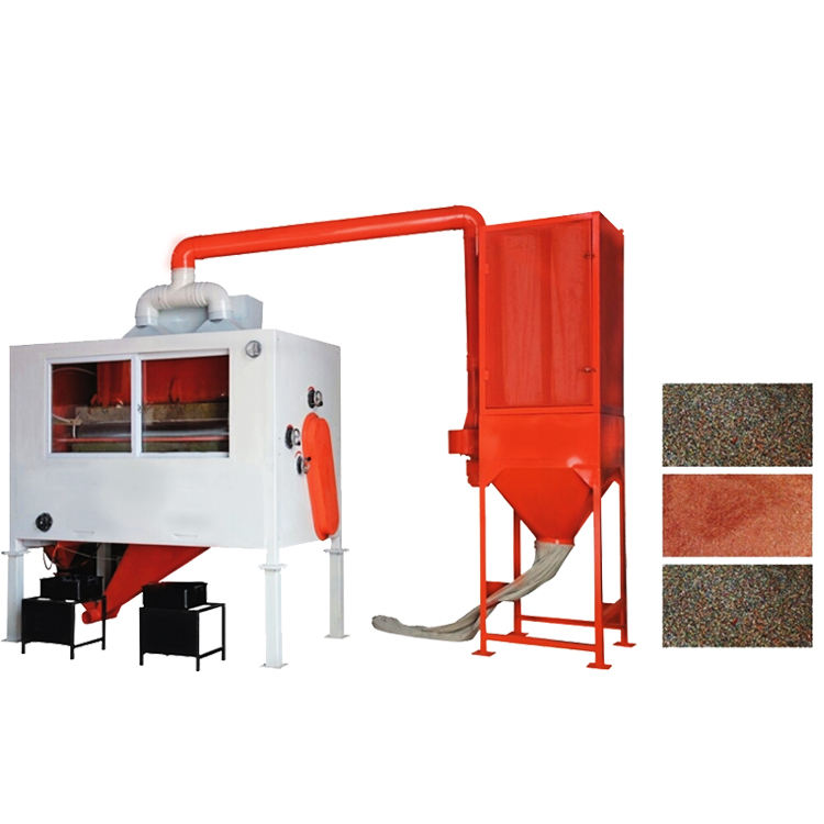 dry type metal recycling equipment copper gold iron electrostatic separator machine for sale