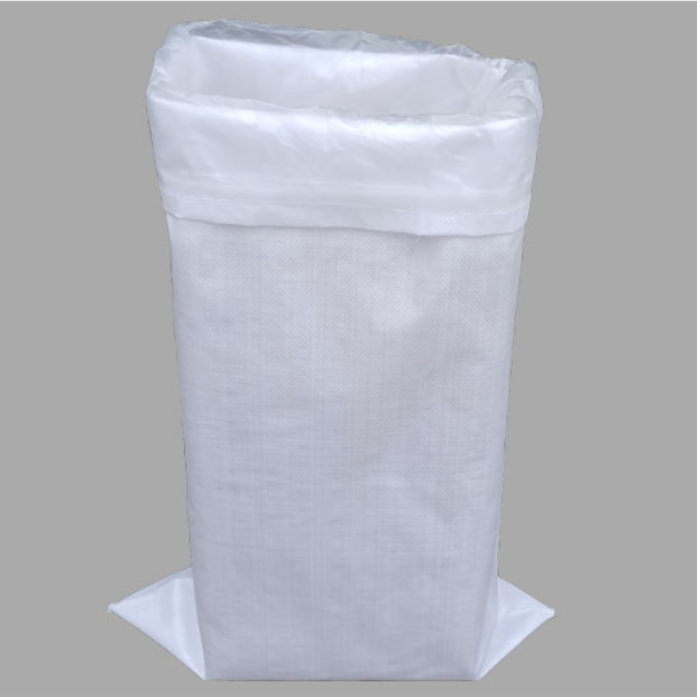 China white flour packaging bag 25kg 50kg pp woven waterproof bag