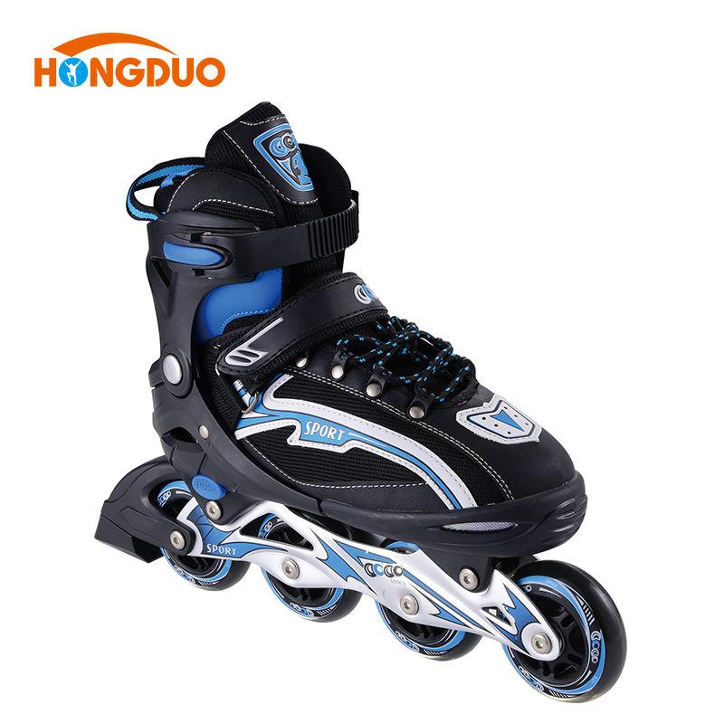 新しいデザイン四輪インライン中国大豆クワッド屋外男性アクセサリーローラースケート靴女性が製造する