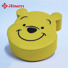 yellow Winnie the Pooh shaped packaging boxes