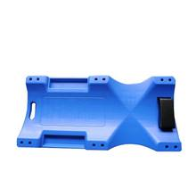 Professional Manufacturing Auto Repairing Tool 40 Inch Creeper 6 Wheels Plastic Car Creeper in blue red black
