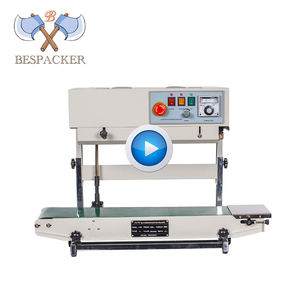 Bespacker vertical type continuous band sealer