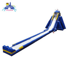 Lilytoys Single Chute 30M Long Giant Inflatable Water Slide For Adult