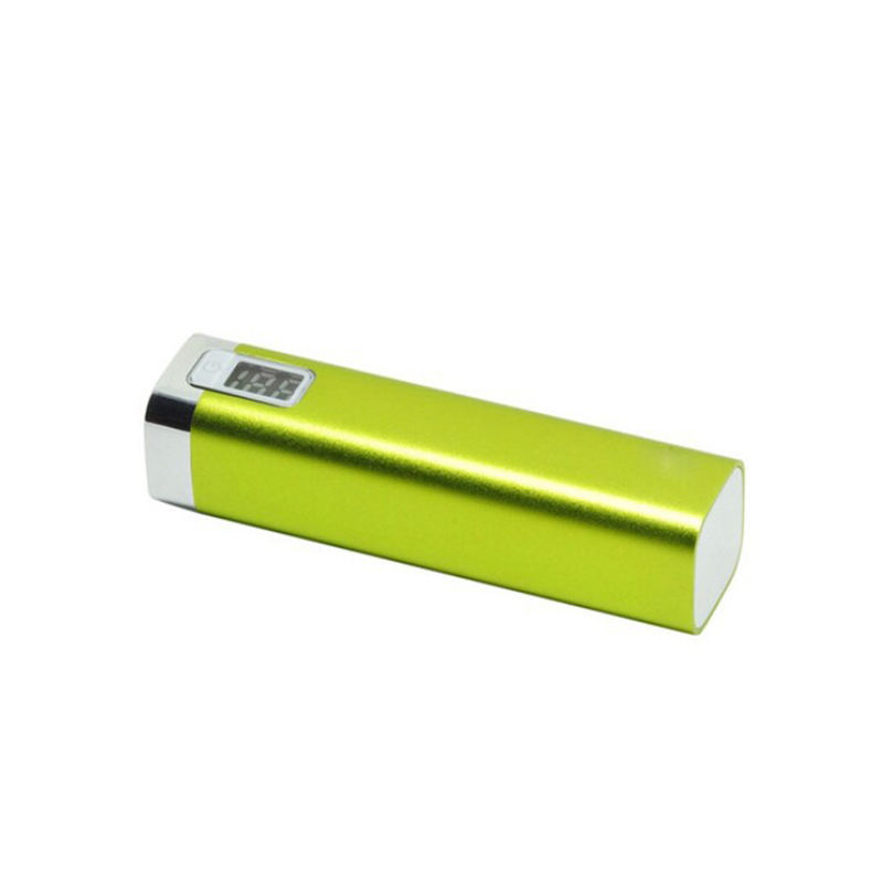 Sampel Gratis Gadget Baru OEM 2600 MAh Power Bank Mobile Power Supply Portable Battery Charger untuk Ponsel