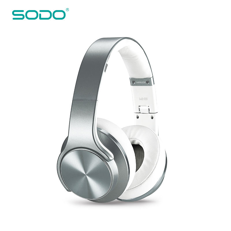 SODO MH5 2018 New Model Best Quality Bluetooth Headphone Speaker 2 in 1 Headphone