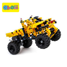 Hot sale high quality eco-friendly plastic diy assembly car educational toys children