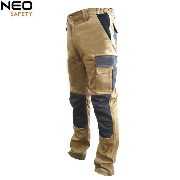 Men's cargo pants stretch trousers work wear custom-built overalls