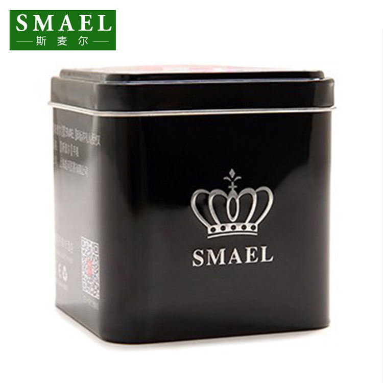 smael ORIGINAL watch box Iron tin box SOLD WITH SMAEL WATCH