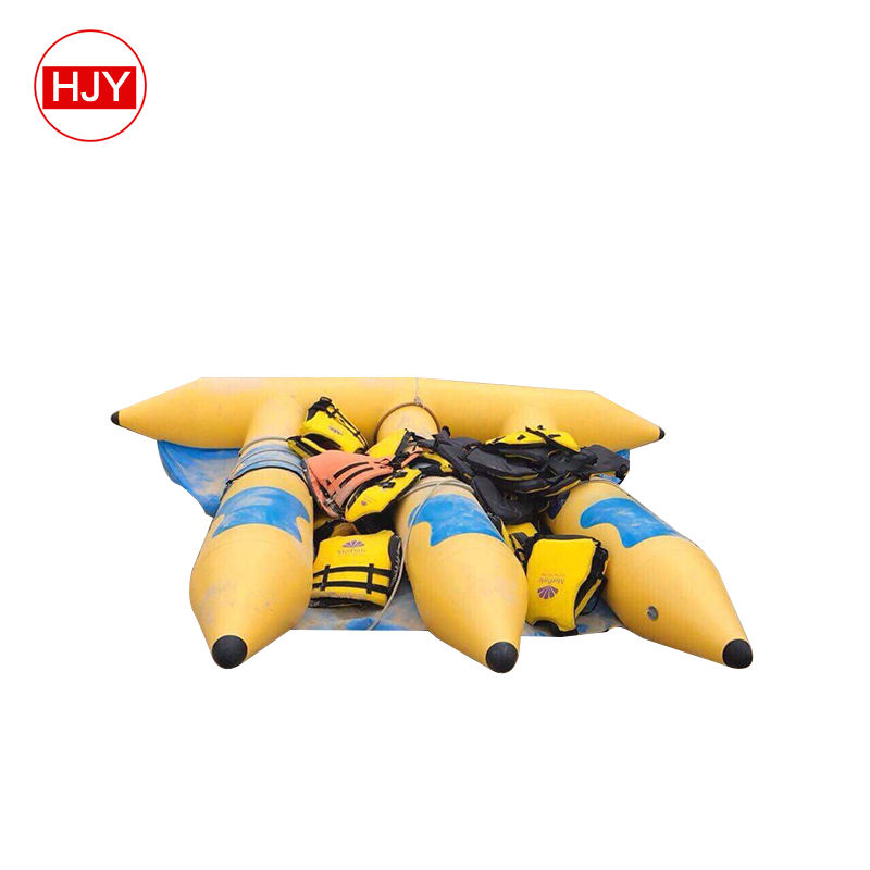 high quality 0.9mm PVC Inflatable towable flyfish / fly fish water sports / inflatable flying fish