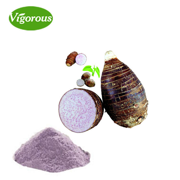 ISO manufacturer good flavor organic natural taro root powder for drinks