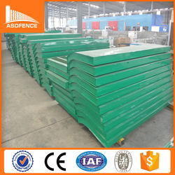 Factory supply low price railway noise barrier/ highway noise barrier/acoustic barrier
