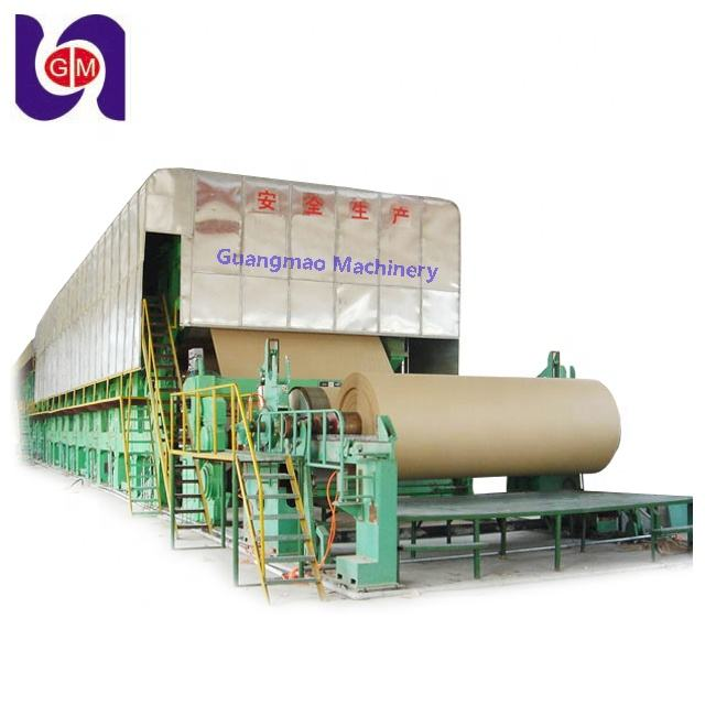 Alibaba Product Kartonnen Machine Gerecycled Afval Papier Pulp Maken Machine en Suikerrietbagasse Papier Machine