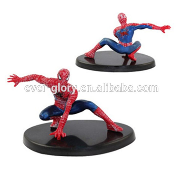 OEM Movie Character 3D PVC Plastic Custom Figurine for Marvel