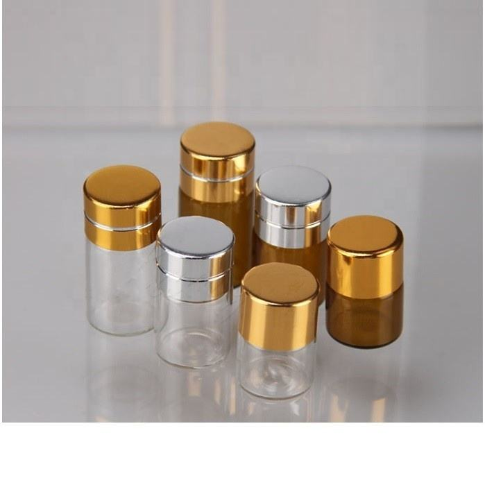 essential oil perfume small sample glass vial 1ml 2ml 3ml 5ml 6ml 10ml mini clear amber glass dropper bottle