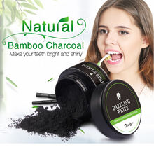PRIVATE LABEL ACTIVATED CHARCOAL TEETH WHITENING POWDER FDA
