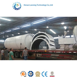 recycled plastic/tyre oil extraction machine tire recycling equipment prices