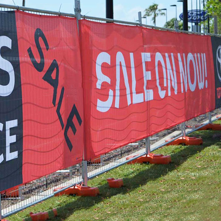 Cost effective mesh banner, vinyl banner hanging backdrop, draw attention mesh billboard