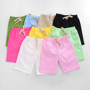 Mode Sommer Jungen Shorts Kinder Candy Farbe Casual Baumwolle Strand Shorts