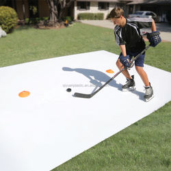 Eco-friendly Recycled PE hockey ice skating rink synthetic ice rink for sale