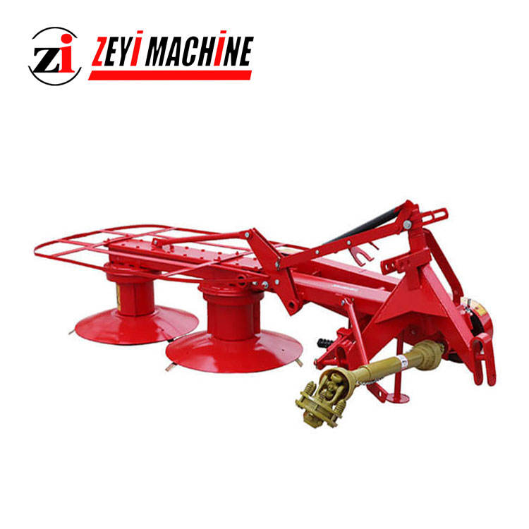1.65m tractor 3 point mounted high quality drum mowers with 65Mn steel blades