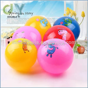 wholesale custom Inflatable pvc bouncy rubber balls/ promotion inflatable bouncy rubber beach balls