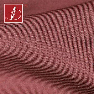 Quick dry cationic spandex fabric yarn dyed sports t shirt fabric single jersey