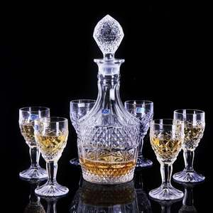 Latest style cheap price stock available promotional lead free crystal wine cup red wine glass with cheap price