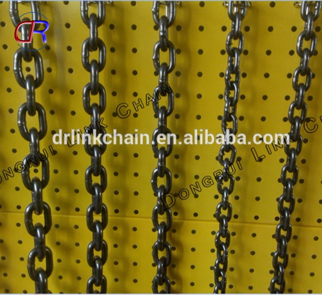 Hoge kwaliteit G80 lifting link chain/staal lifting chain/load chain