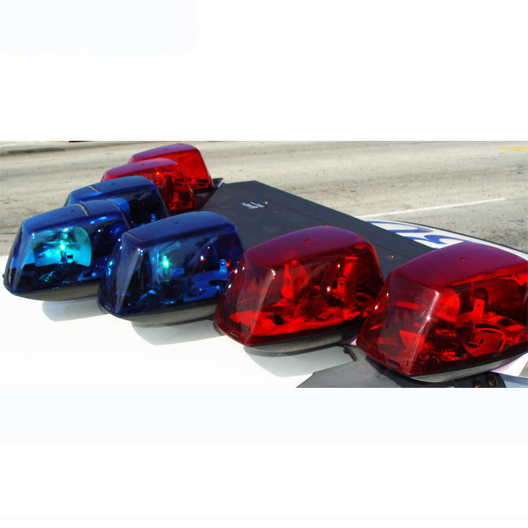 Vector shape 7 rotator roof mount halogen emergency strobe police v light bar