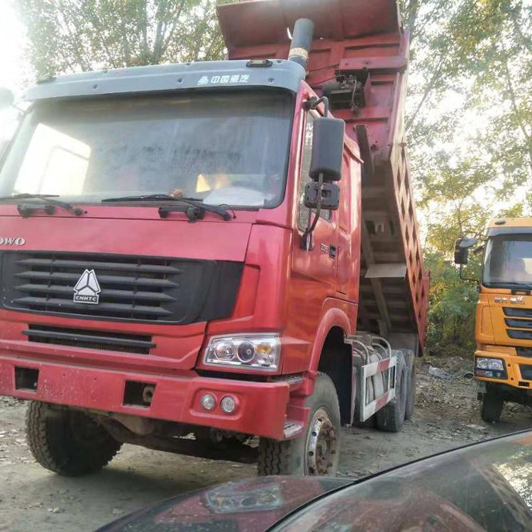 Right hand drive 10 wheel widely used howo dump truck for sale in shanghai China+8618116482935