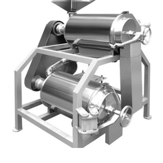 Factory price fruit tomato pulping extractor machine mango puree making machine from China