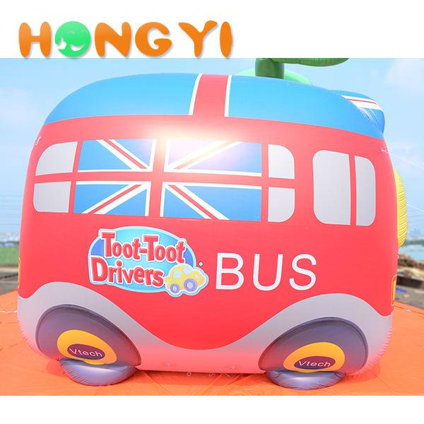 Hoạt động kỷ niệm trang trí inflatable xe buýt <span class=keywords><strong>trường</strong></span> <span class=keywords><strong>học</strong></span> phim hoạt hình đồ chơi inflatable nảy xe buýt dễ thương