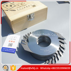 [Pioneer](160x50)x4.0x2T finger jointe cutter for finger joint board