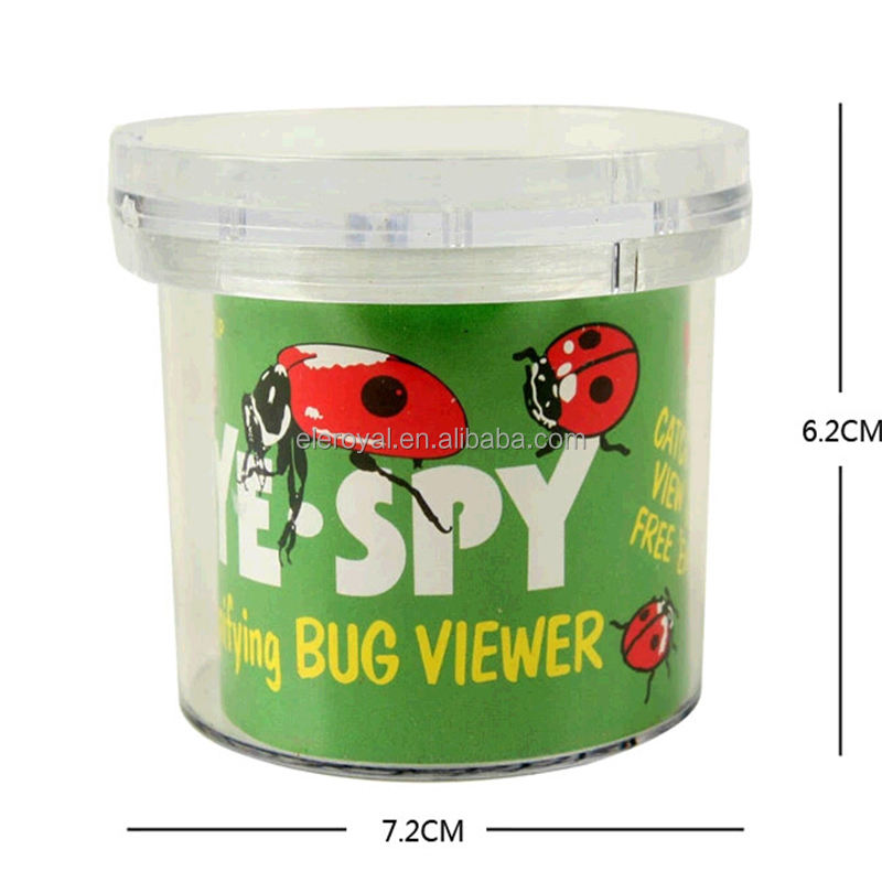 Magnifying Bug Viewer Kid's Toy, Nature Exploration Toys Insect Magnifier Backyard Explorer