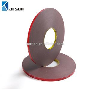 10mm x 33meter 1Roll 3M 4229 Tape for auto trim and accessories, grey, 0.8mm thick